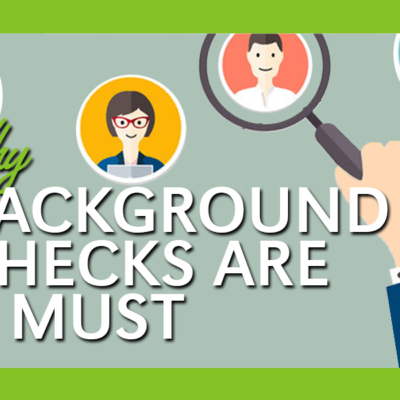 Why a Criminal Background Check is So Important