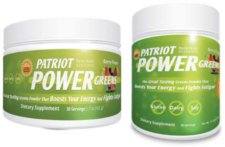 Image result for patriot power greens