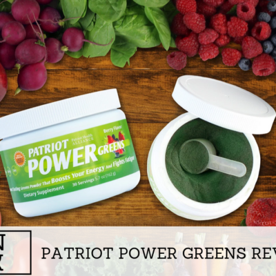 The Impact Of Patriot Power Greens Supplement While On Diet